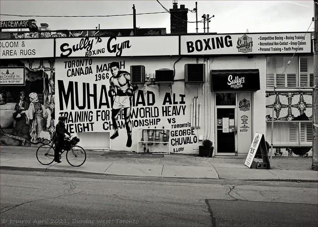 Sully's Gym. Dundas West, Toronto.