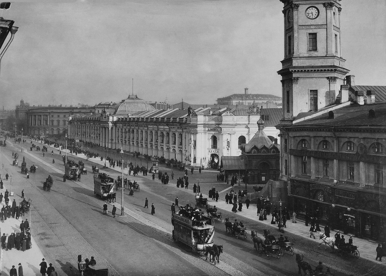 1897. Невский проспект. Гостиный двор