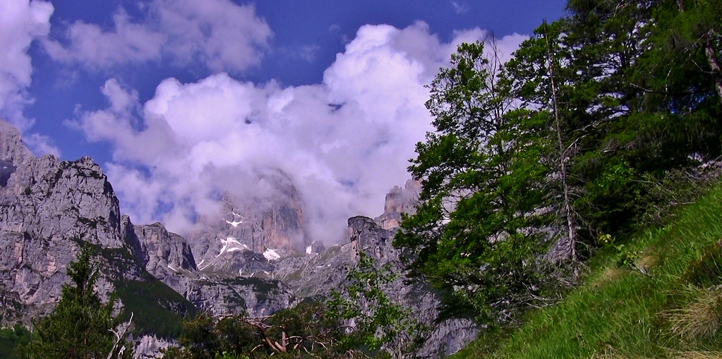 ITALIEN, Italy  Vom Pradel  Richtung Brenta-Gebirge(Dol) 79054/13665