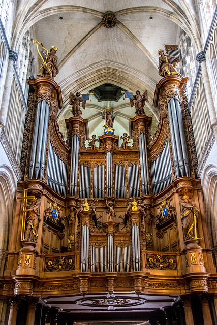 St Omer Cathedral organ