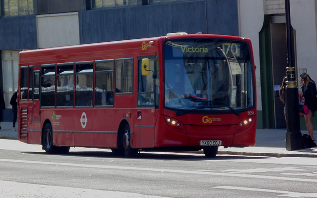 Go Ahead London General SE51 YX60EOJ