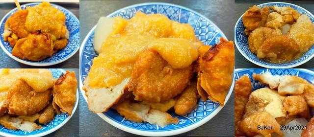 「賽門鄧普拉西門町總店」(Tempura & Cabbage Rolls restaurant), Taipei,Taiwan, Apr 29, 2021.SJKen