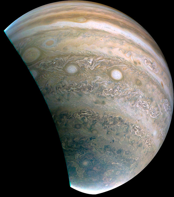 Jupiter (JUNOCAM Perijove 33 Data)