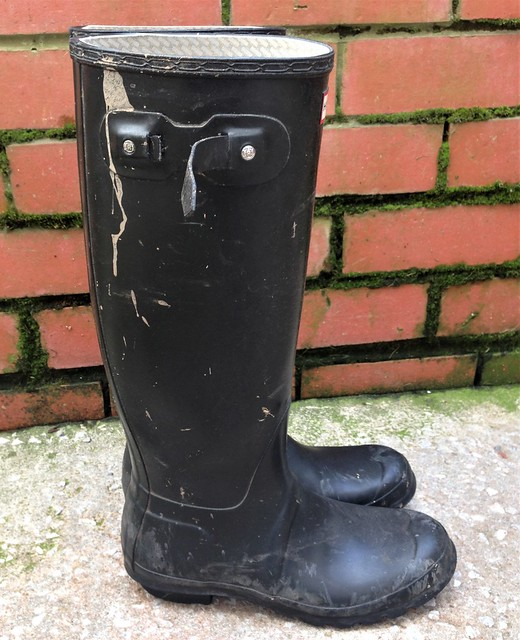 wifes dirty hunter boots