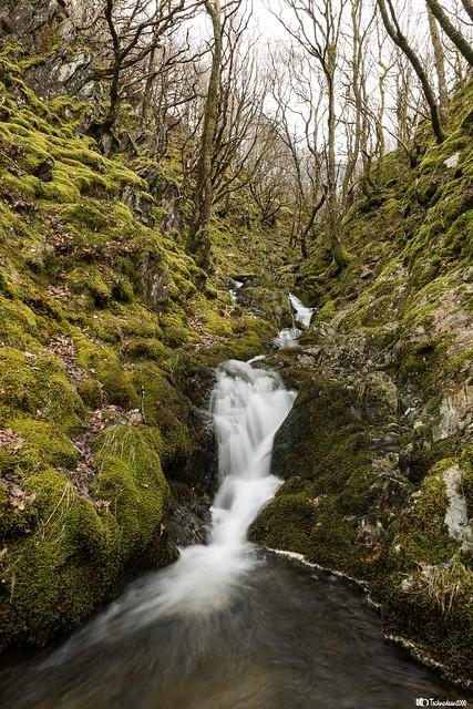 Rushing stream, Elan Valley
