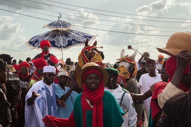 Emir's Arrival