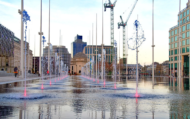 Fountains..