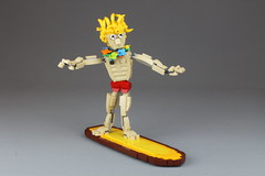 Surfer Dude from LEGO Masters