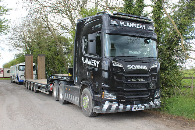 Scania R580 - Flannery Plant Hire