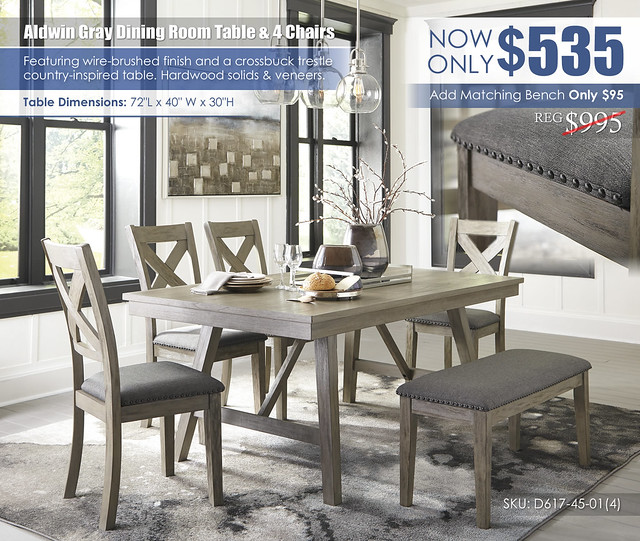 Aldwin Gray Dining Room Collection wBench_D617-45-01(4)-00_Update
