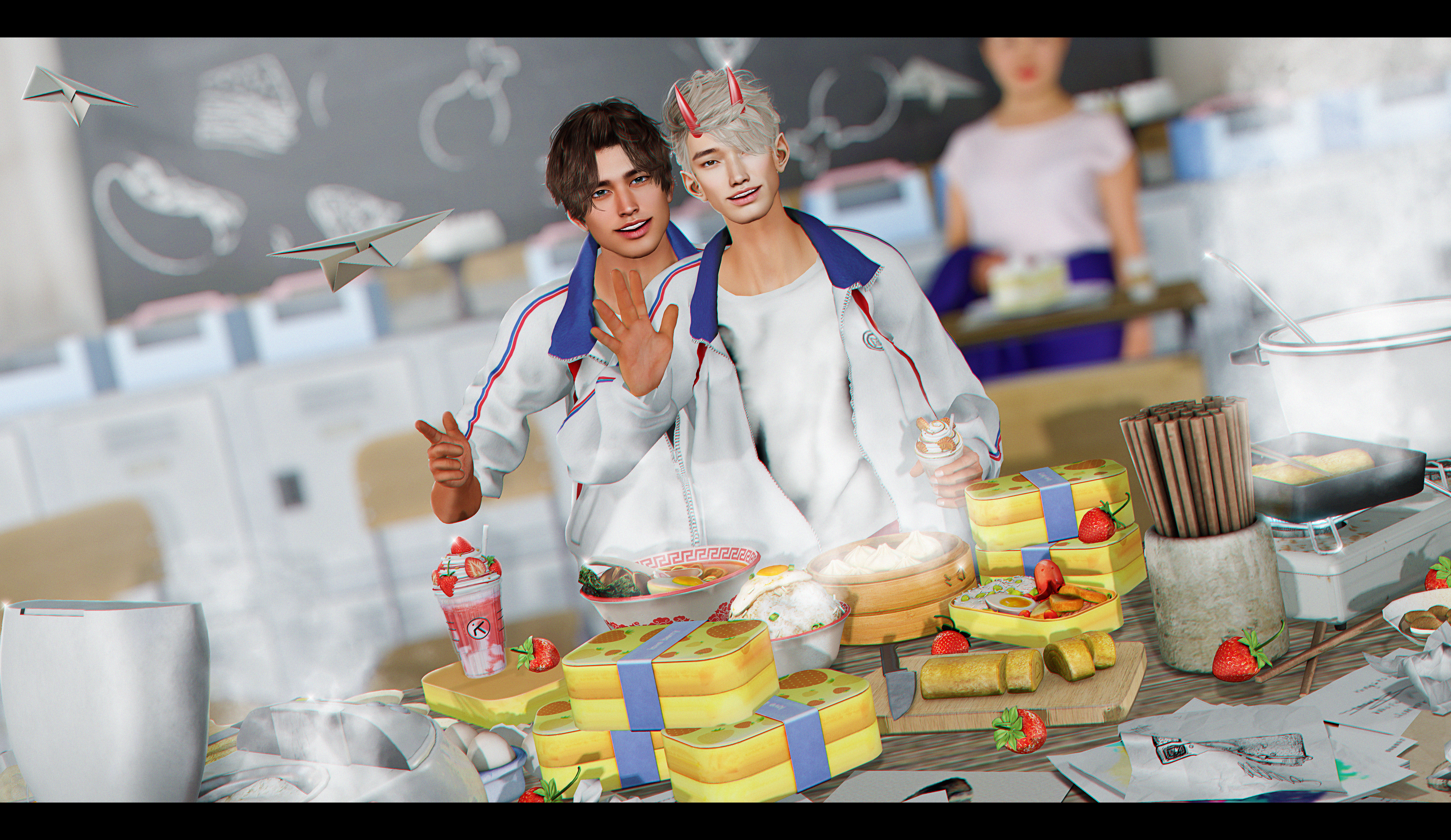 . cooking club .