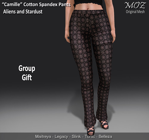 """MOZ """"Camille"""" Cotton Spandex Pant - Group Gift"""