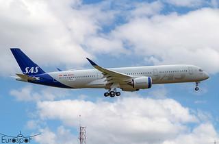 F-WZGQ / SE-RSF Airbus A350-941 SAS s/n 499 * Toulouse Blagnac 2021 *