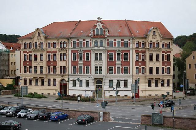 Meißen: Gründerzeithäuser an der Uferstraße
