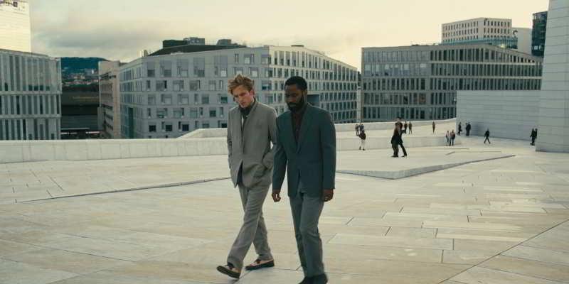 Filming in Oslo