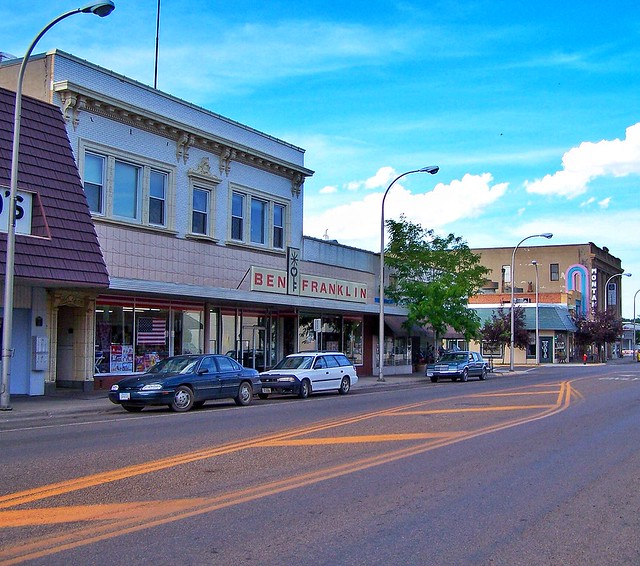 Mile City - Montana - Main Street - Downtown - Historic