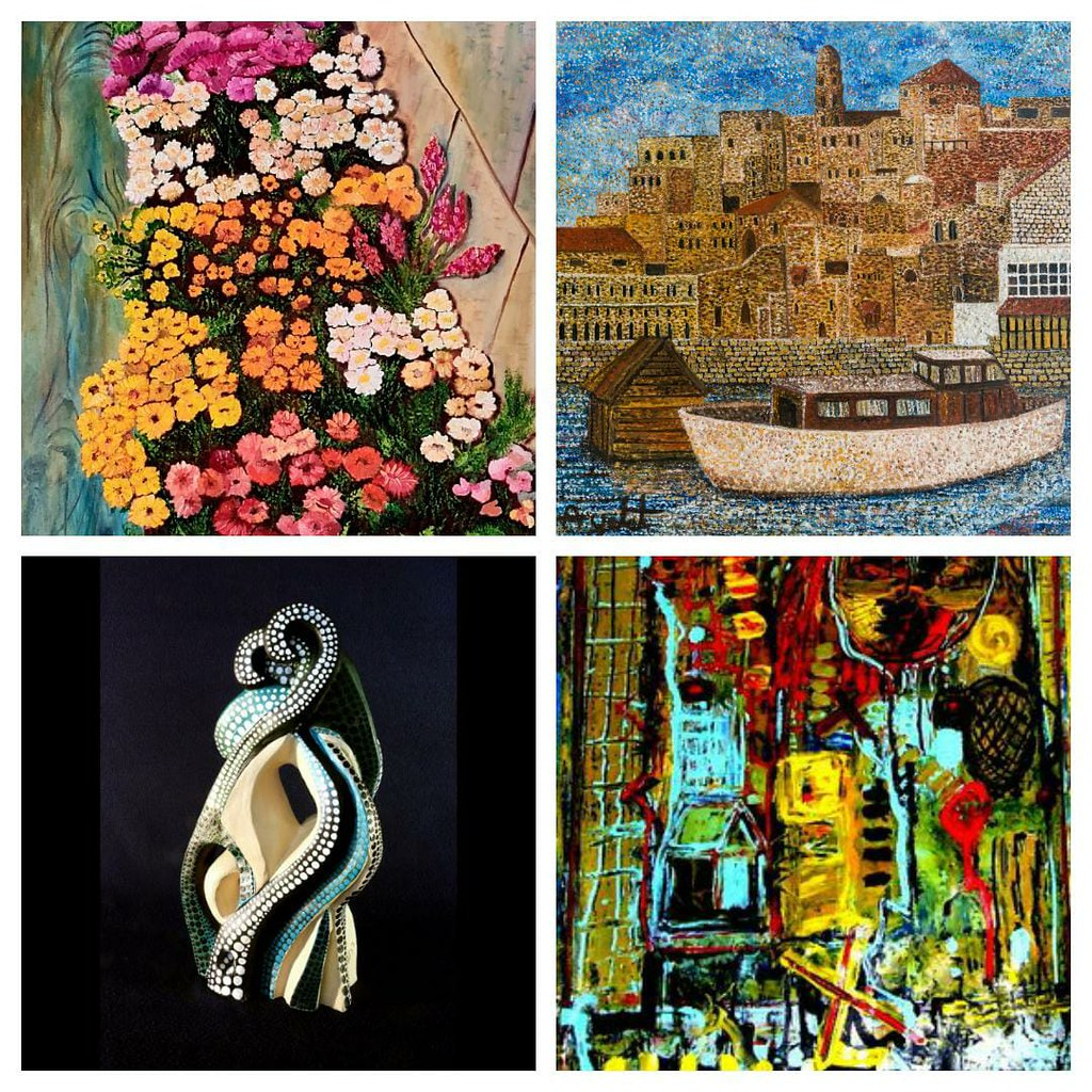 הציירות המודרניות ציירת ישראלית עכשווית מודרנית שרה זלוטי רחל פרנק יוצרת אמנית איילת בוקר פרידה פירו