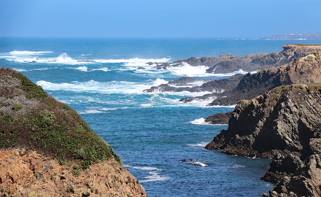 Northern California Coast at Mendocino Headlands, April 2021