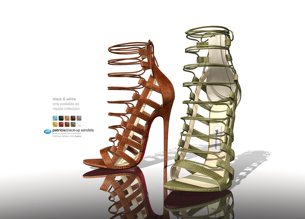 Patricia Lace-up Sandals