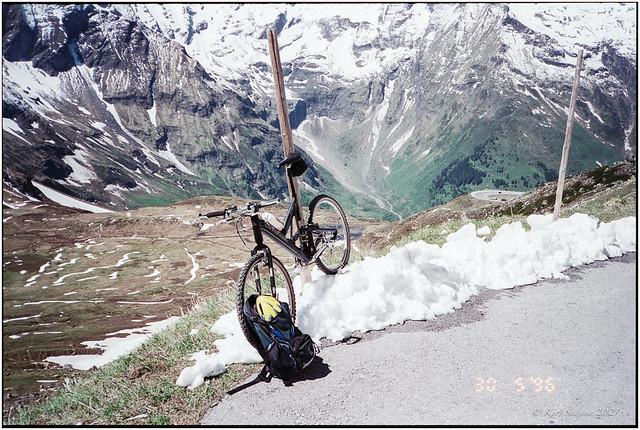 Training for the Glocknerkönig - Race_1996_Leica R5