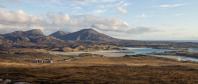 Uig Bay from Forsnabhal