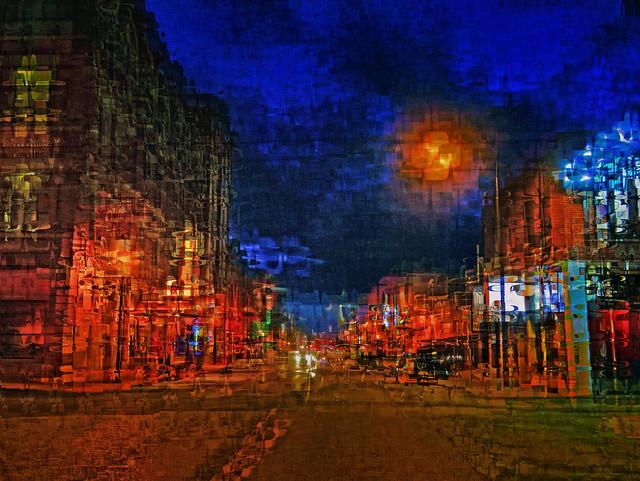 Night, Main St