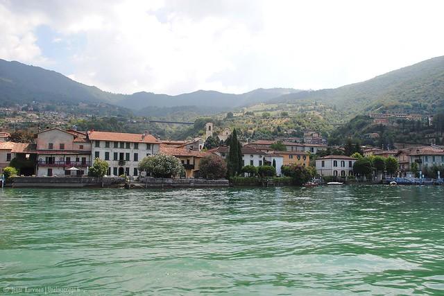 Järvimaisema Italian Iseojärvellä