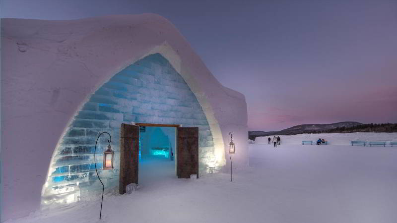 Baby It's Cold Inside Ice Hotel