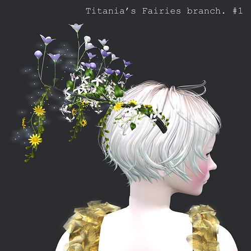 *NAMINOKE*Titanias Fairies branch #1