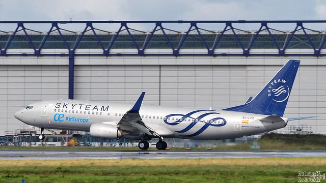 Air Europa 🇪🇸 Boeing 737-800 EC-LPQ