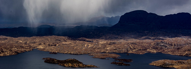 Suilven from Stac Pollaidh, NW highlands