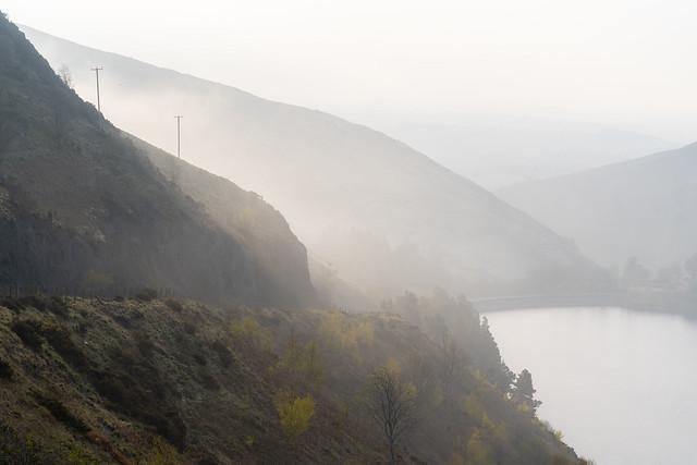 Misty Morning at Llyn Clywedog