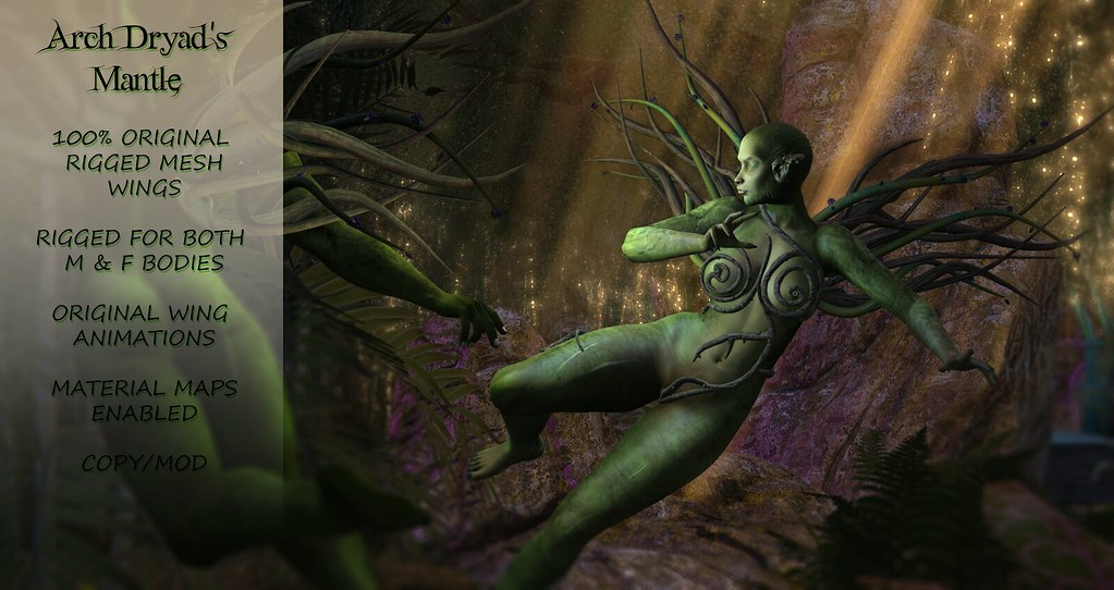 Arch Dryad's Mantle @ Enchantment