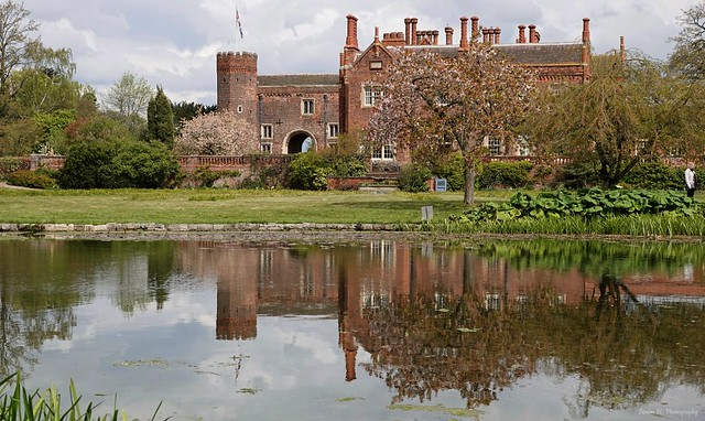 Hodsock Priory. April 2021