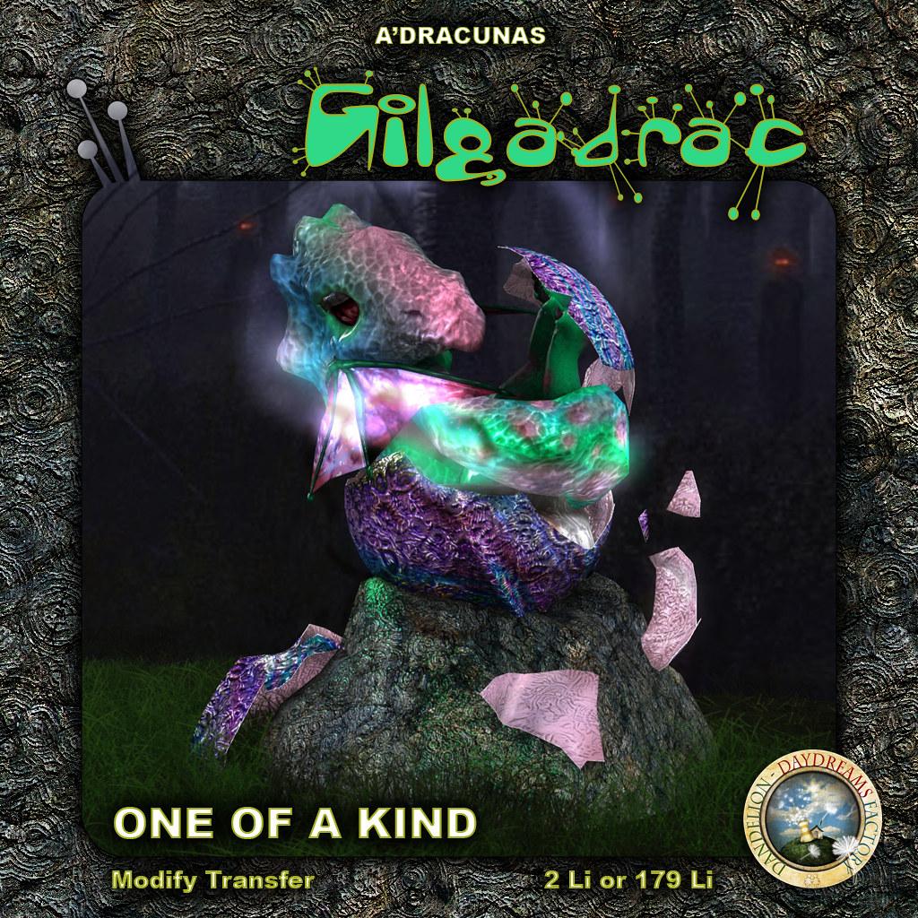 DDDF * A'Dracunas Hatchling Gilgadrac OOAK FF 2021