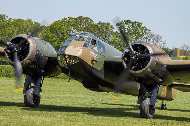 Blenheim I L6739 G-BPIV - The Aircraft Restoration Company - Duxford