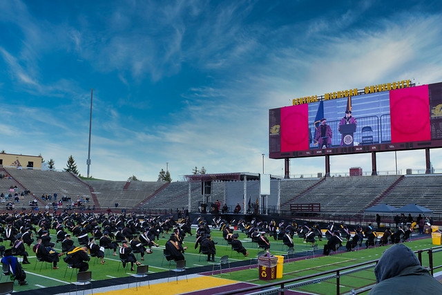 Central Michigan University Commencement 2021