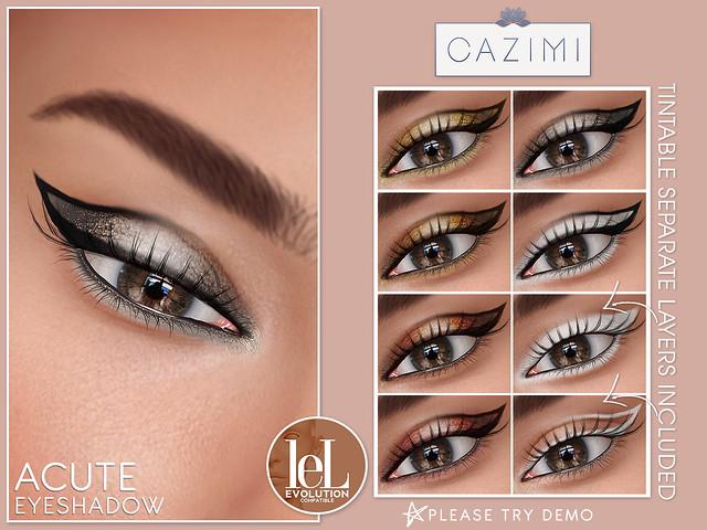 Acute Eyeshadow @ Pretty