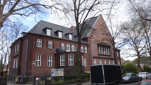 1928/29 Berlin evangelisches Luther-Gemeindehaus von Werner Gregor Baseler Straße 18 in 13407 Reinickendorf