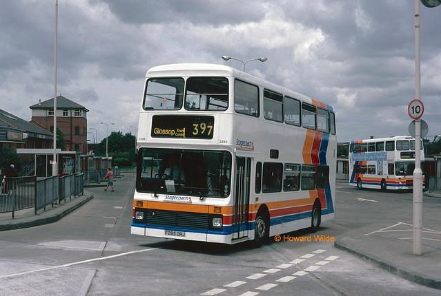 Stagecoach Manchester 3285 (F285 DRJ)