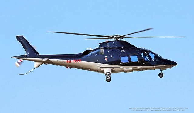 9H-CAR LMML 08-05-2021 Private Agusta-Westland AW-109SP CN 22382