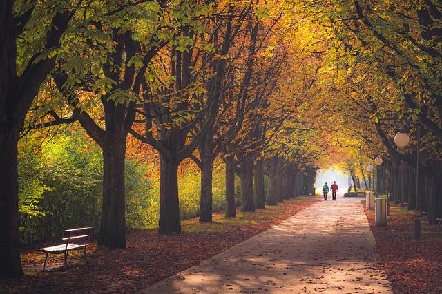 Ufschötti Park. Lucerne, Switzerland
