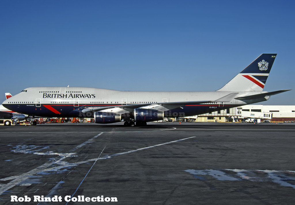 British Airways B747-436 G-BNLN