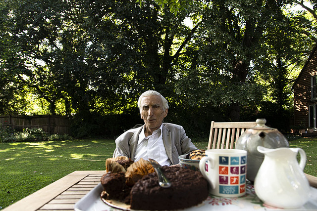 Lord Rees at Tea