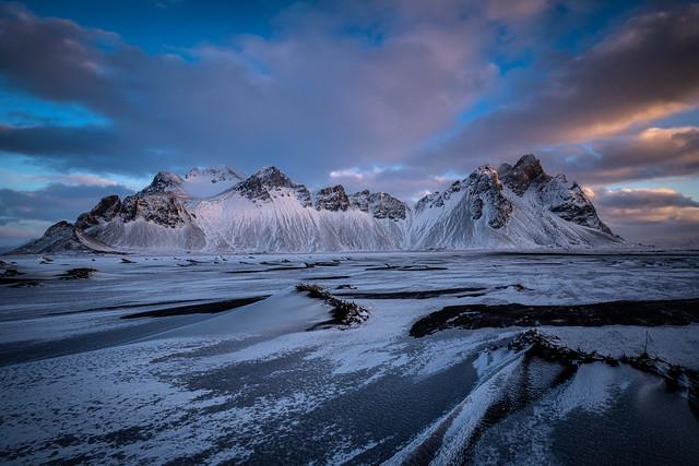 Vestrahorn, Islande