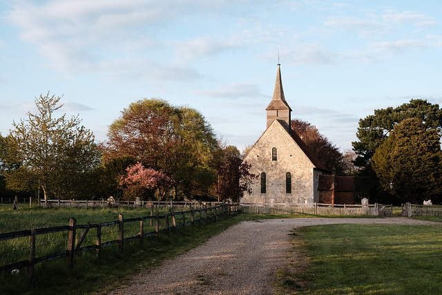 Countryside Anglican Church of St. Germanus near Faulkbourne