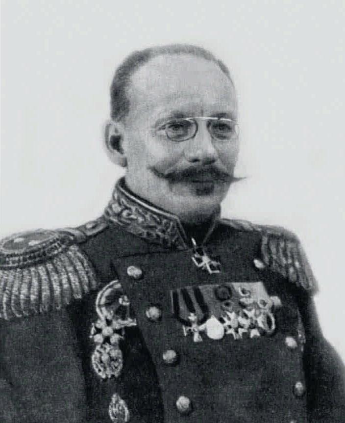 1914. Географ, генерал-лейтенант Ю.М.Шокальский.