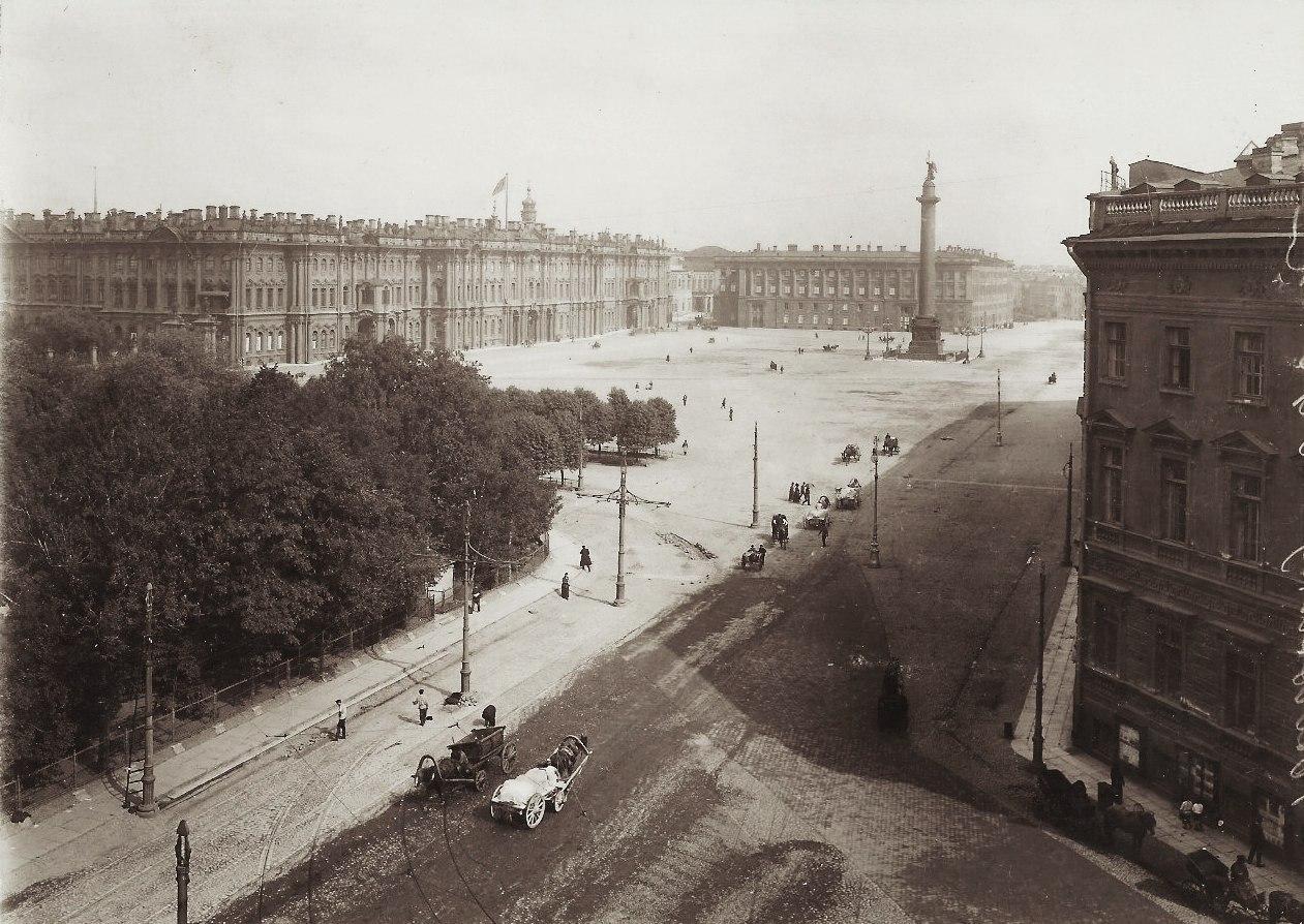 1908. Дворцовая площадь