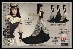 60L$ WEEKEND PIXEL BOX - Steampunk Dress Mrs Brawer Lake