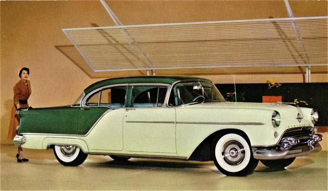 1954 Oldsmobile Ninety-Eight 4-Door Sedan